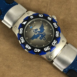 Very Cool Dragon Freestyle Watch Blue and SSteel